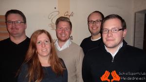 v.l.n.r.: Markus Röhrs, Nicole Neumann, Sebastian Nick, Jonas Wussow, Florian Hyner