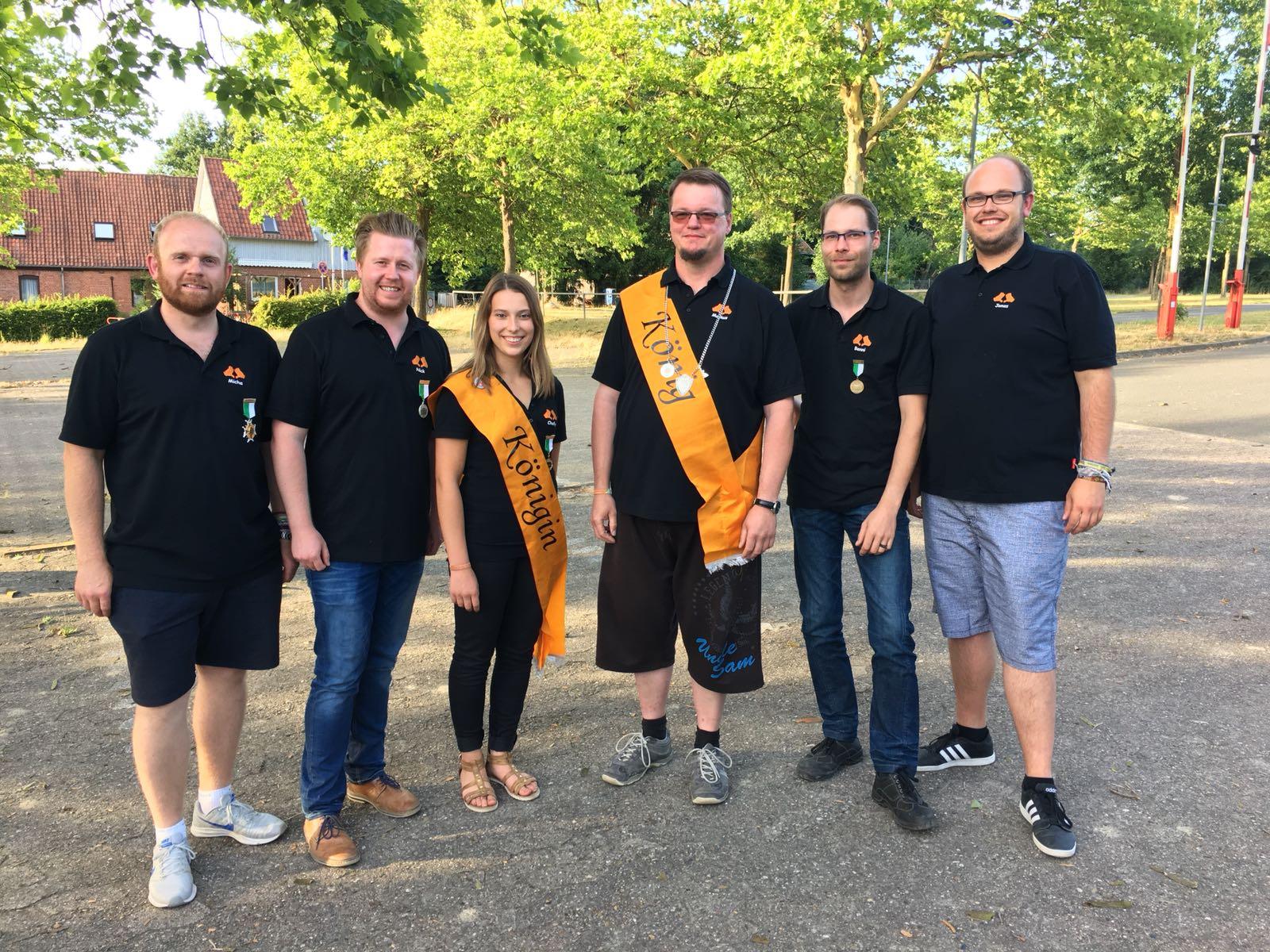 Markus, König der Schwedischen Gardinen, regiert fürs kommende Jahr